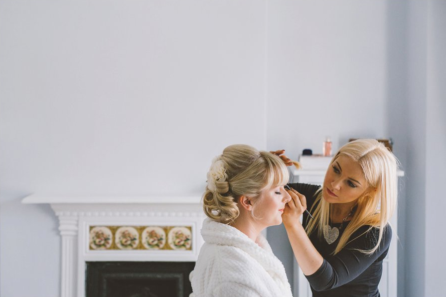 best bridal hair salon in Bridgend