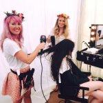 Glastonbury_shelley_pengilly_shelleys_salon_pop_up_salon_milk_shake_Hair_Jessica_Verity_make_up_beauty