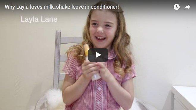 Mini milk_shake girls love leave in conditioner too!