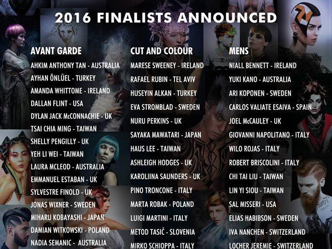 2016 Alternative Hair Visionary Awards - Shelley is an Avant Garde finalist!