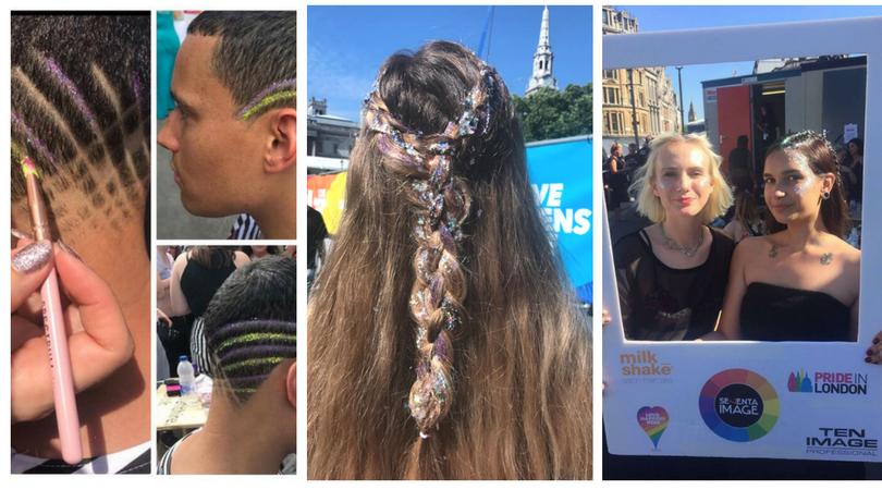 Shelley Pengilly VIP Stylist At London Pride 2017