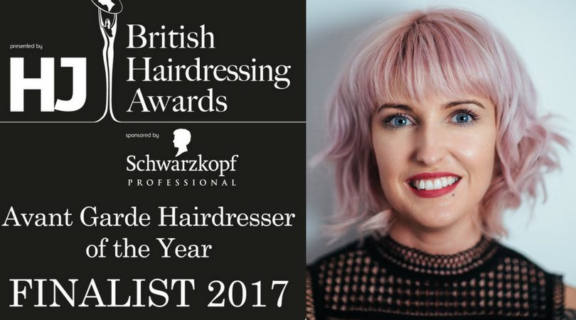Shelley Pengilly British Hairdressing Award Avant Garde Stylist Of The Year Finalist
