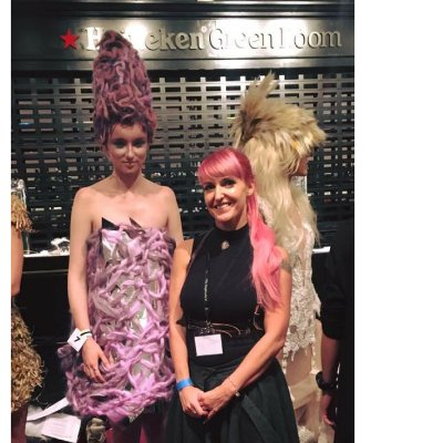 Shelley Competes As International Finalist In 2017 Alternative Hair Show