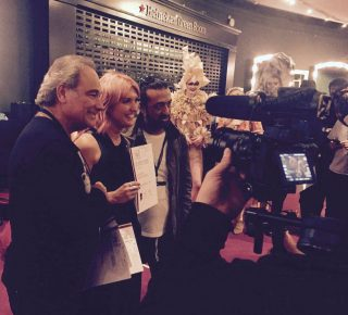 Shelley Competes At International Visionary Awards At The Iconic Royal Albert Hall
